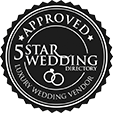 5 star wedding directory approved luxury wedding vendor