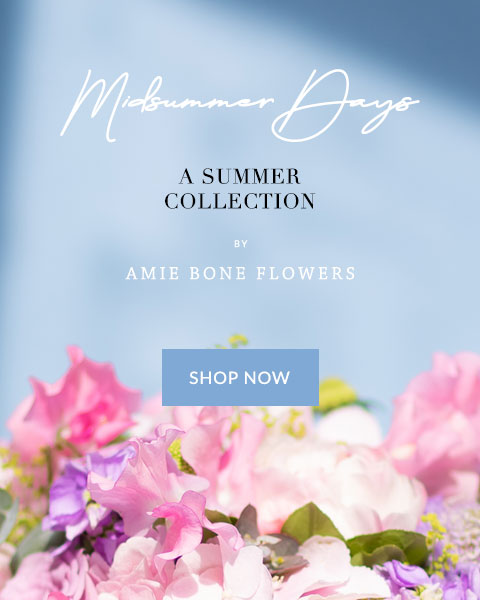 midsummer days, a summer collection by amie bone flowers