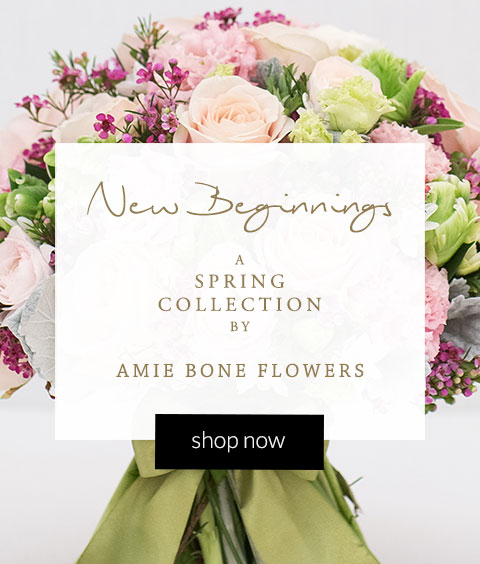 Spring bouquets from Amie Bone Flowers