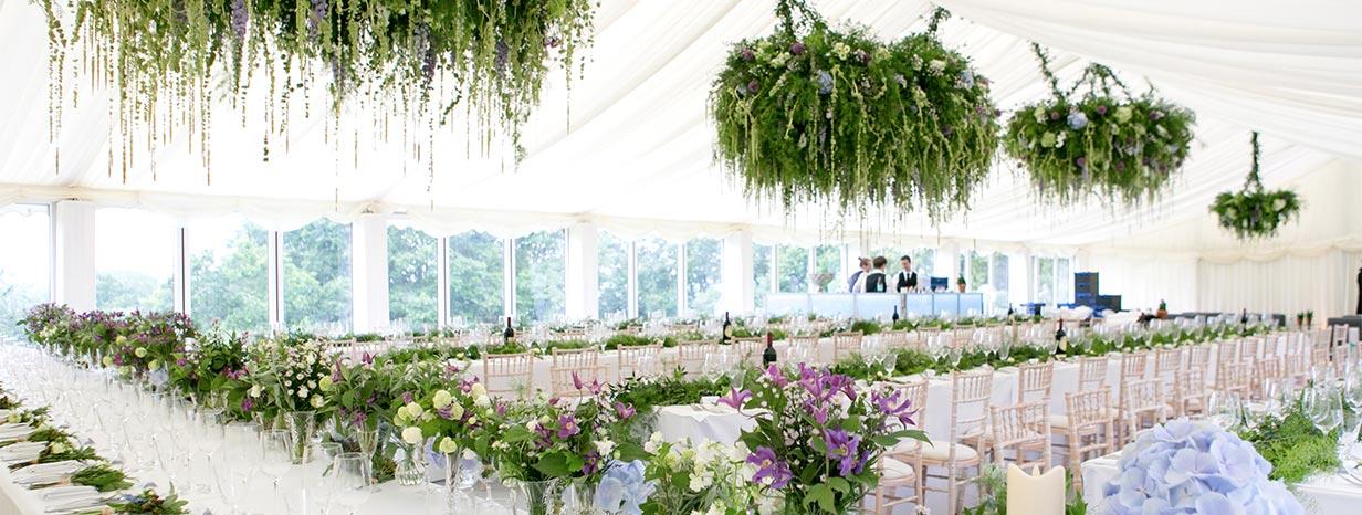Floral chandelier grandeur amie bone flowers blog amie bone flowers marquee wedding chandelier grandeur aloadofball Image collections
