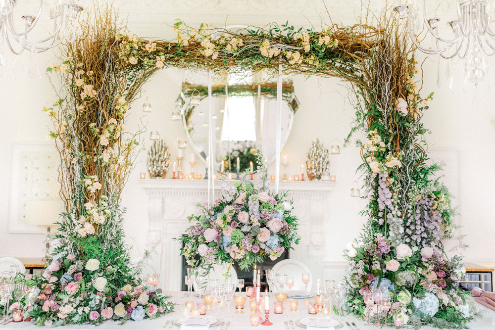 Luxury Wedding Flowers Inspired By Unicorns At The Grove