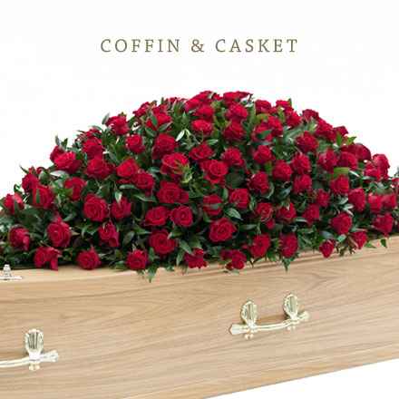 coffin and casket tributes