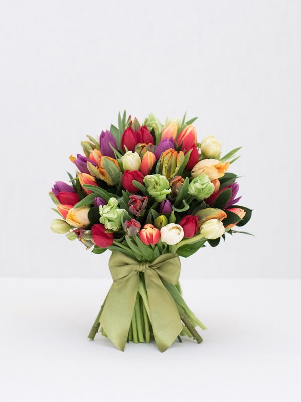 Tremendous Tulips Spring Bouquet Of Flowers From Amie Bone