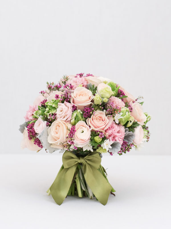 Pastel Glow Spring Bouquet Of Flowers From Amie Bone